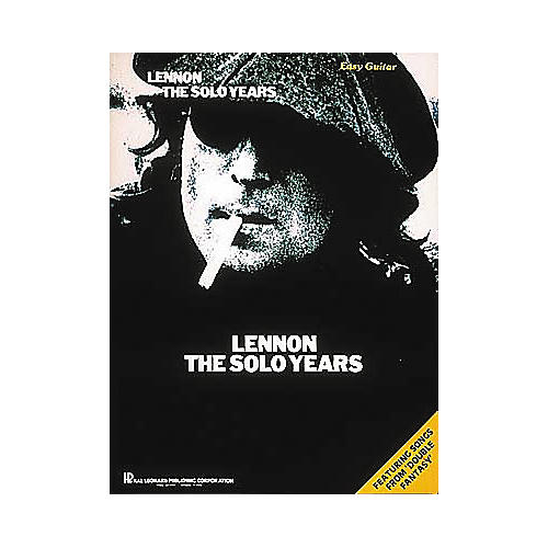 Hal Leonard Lennon - The Solo Years Guitar Tab Songbook