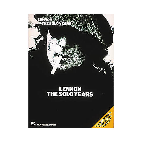 Hal Leonard Lennon - The Solo Years Piano, Vocal, Guitar Songbook