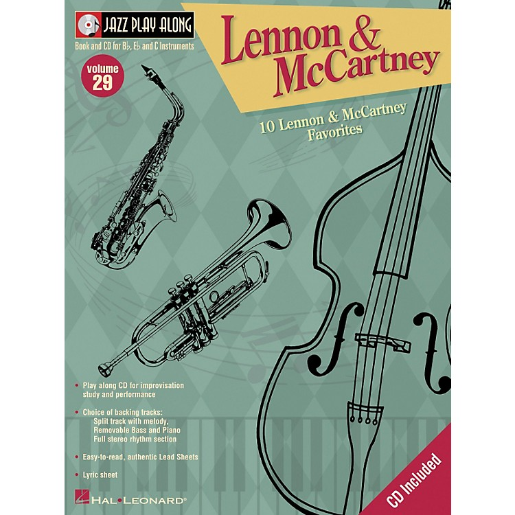 Hal LeonardLennon And McCartney - Jazz Play Along Volume 29 Book with CD