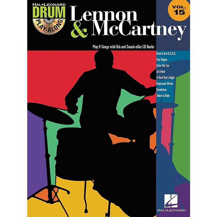 Hal Leonard Lennon & McCartney - Drum Play-Along Volume 15 (CD/Booklet)