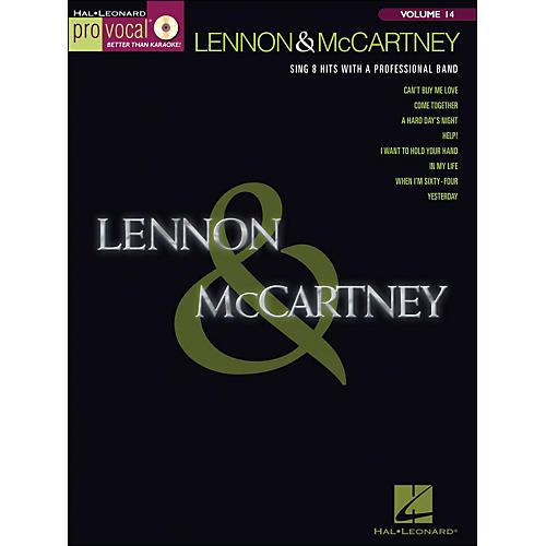 Hal Leonard Lennon & McCartney - Pro Vocal Songbook & CD Volume 14