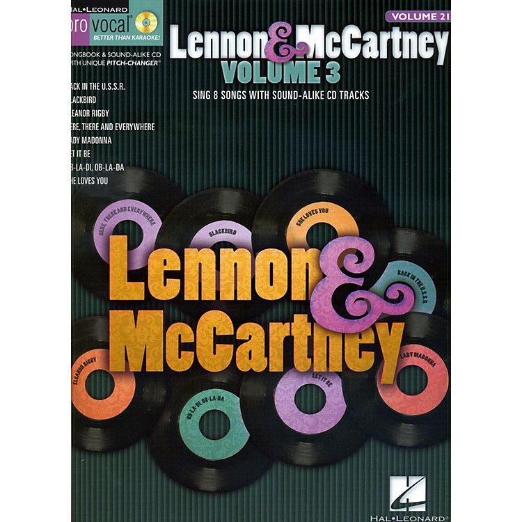 Hal Leonard Lennon & McCartney - Volume 3 (Book/CD)