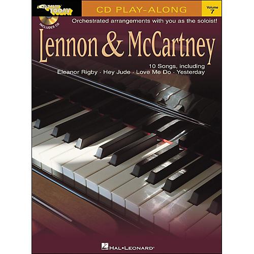 Hal Leonard Lennon & McCartney E-Z Play Today Play-Along Volume 7 Book/CD