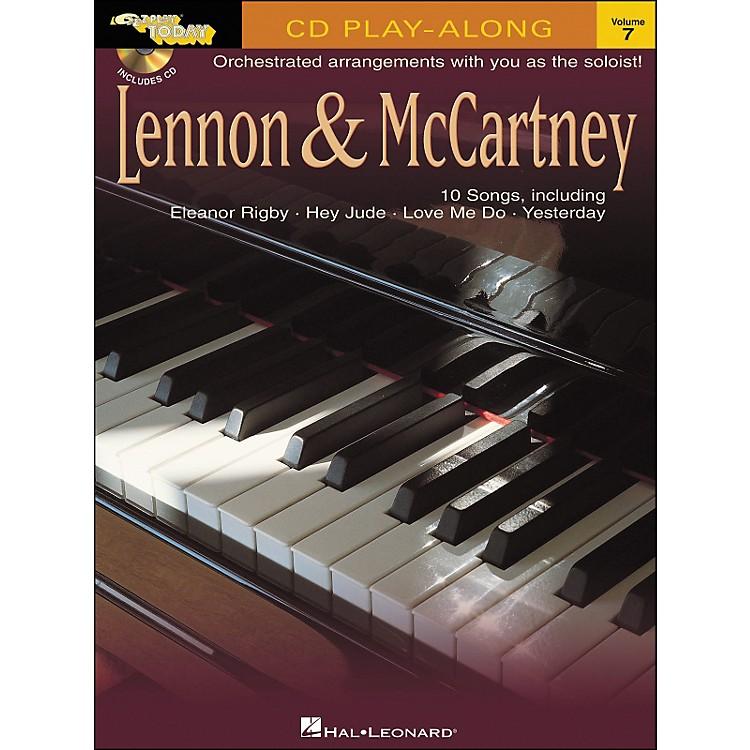 Hal LeonardLennon & McCartney E-Z Play Today Play-Along Volume 7 Book/CD