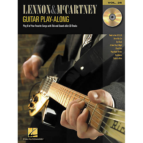 Hal Leonard Lennon & McCartney Guitar Play-Along Series Book with CD