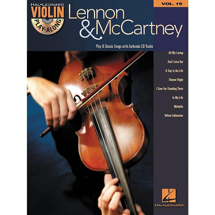 Hal LeonardLennon & McCartney Violin Play-Along Volume 19 (Book/CD)