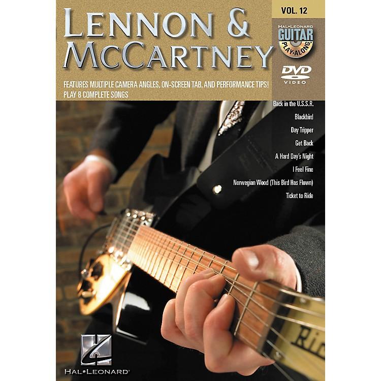 Hal LeonardLennon & Mccartney - Guitar Play-Along DVD Volume 12