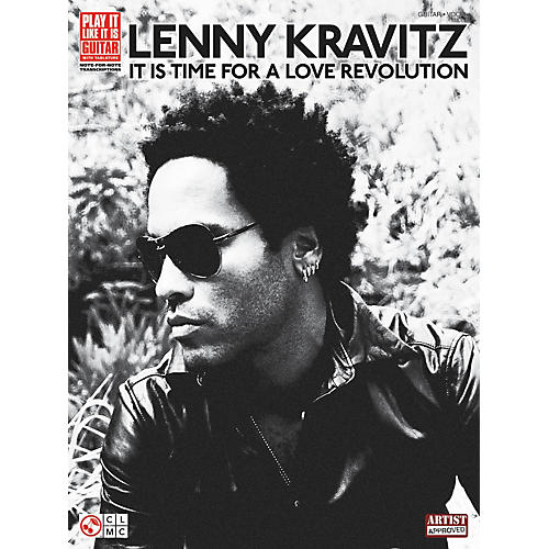 Cherry Lane Lenny Kravitz - It Is Time For A Love Revolution (Guitar Tab Songbook)-thumbnail