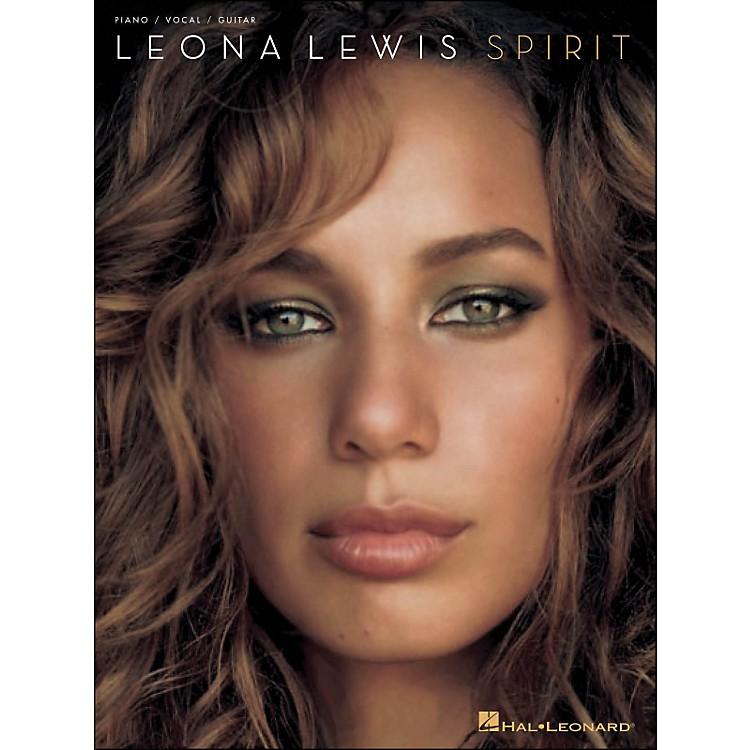 Hal LeonardLeona Lewis Spirit arranged for piano, vocal, and guitar (P/V/G)