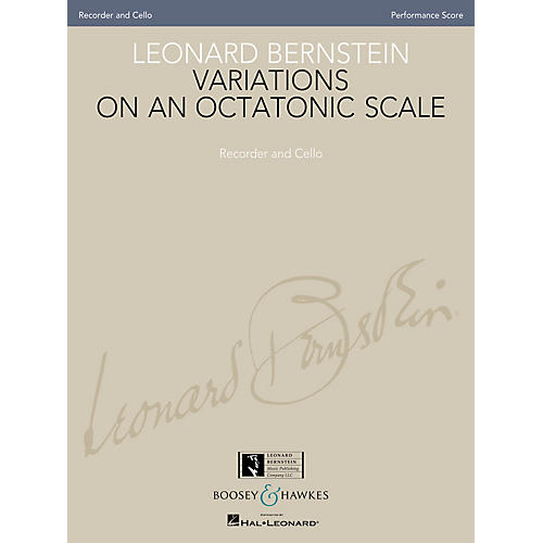 Boosey and Hawkes Leonard Bernstein - Variations on an Octatonic Scale Boosey & Hawkes Chamber Music by Leonard Bernstein