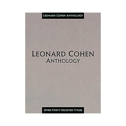 Hal Leonard Leonard Cohen Anthology Composer Collection Book
