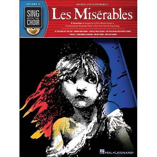 Hal Leonard Les Miserables - Sing with The Choir Series Vol. 9 Book/CD