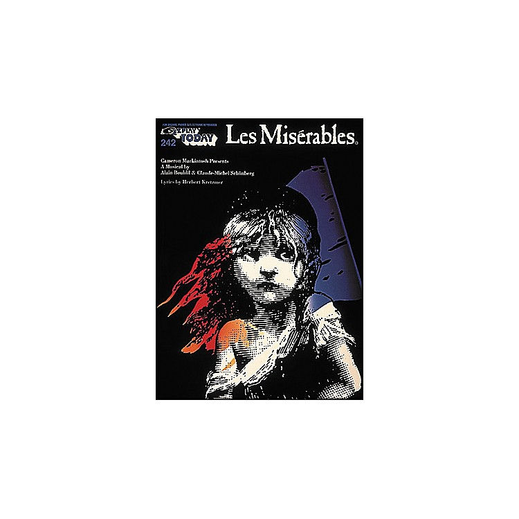 Hal Leonard Les Miserables E-Z Play 242