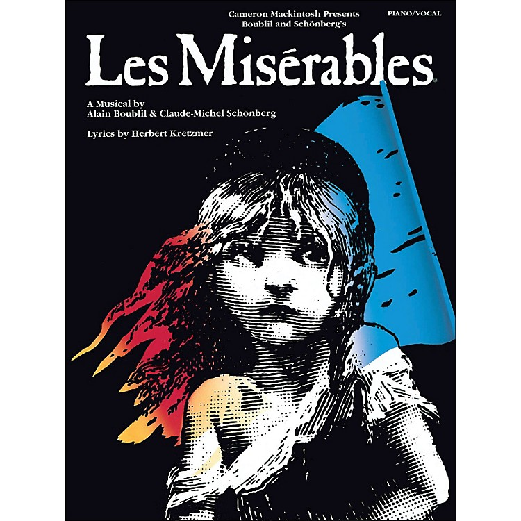 Hal Leonard Les Miserables arranged for piano, vocal, and guitar (P/V/G)