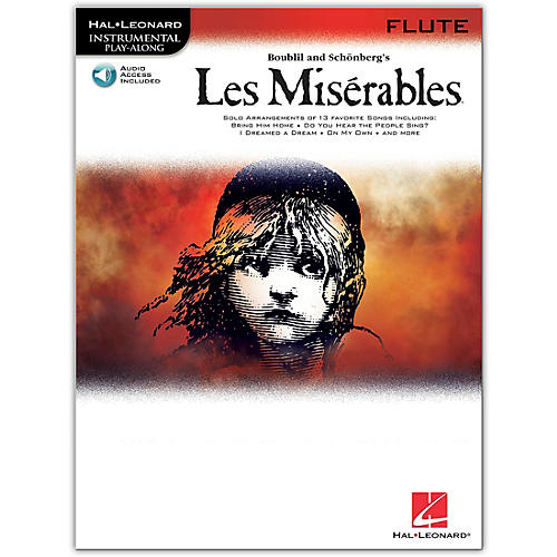 Hal Leonard Les Miserables for Flute - Instrumental Play-Along CD/Pkg-thumbnail