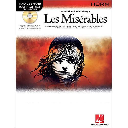 Hal Leonard Les Miserables for French Horn - Instrumental Play-Along Book/CD Pkg