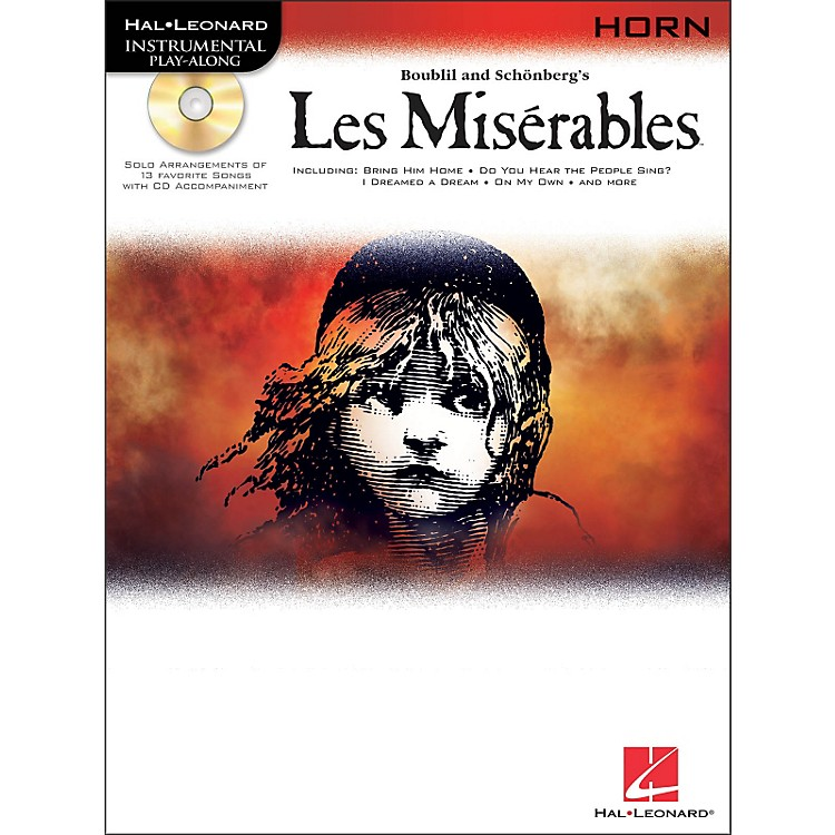 Hal Leonard Les Miserables for French Horn - Instrumental Play-Along Book/CD Pkg