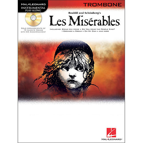 Hal Leonard Les Miserables for Trombone - Instrumental Play-Along Book/CD
