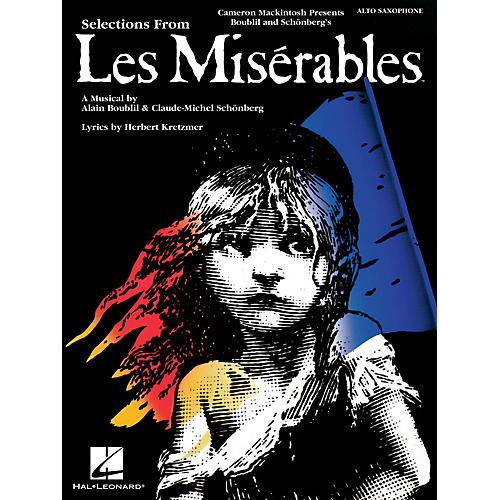 Hal Leonard Les Misérables (Instrumental Solos for Alto Sax) Instrumental Solo Series Book