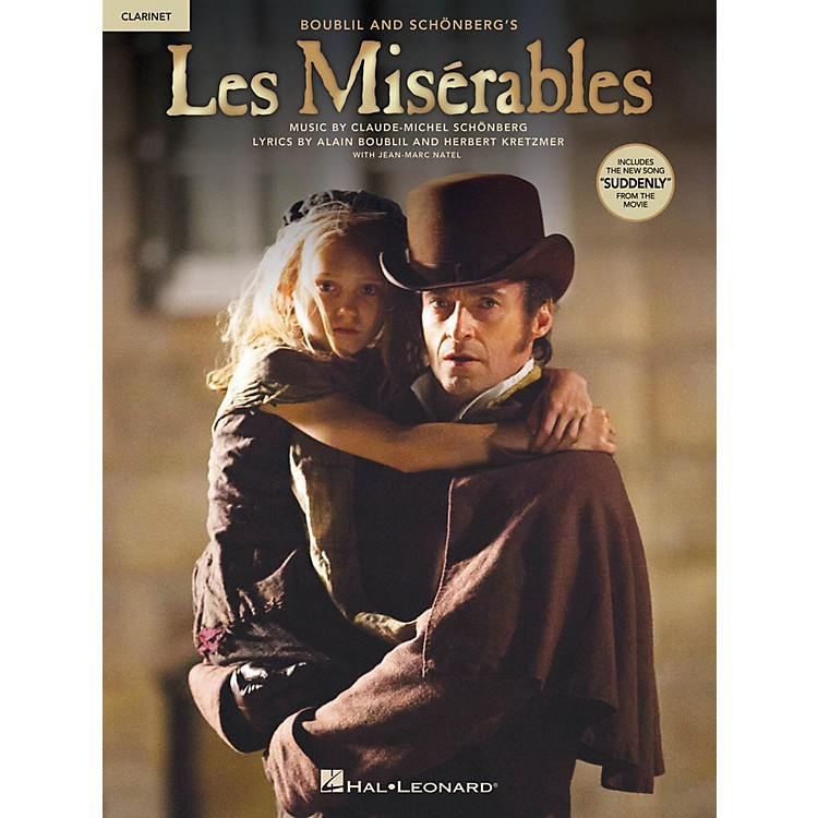 Hal Leonard Les Misérables  Instrumental Solos from the Movie for Clarinet