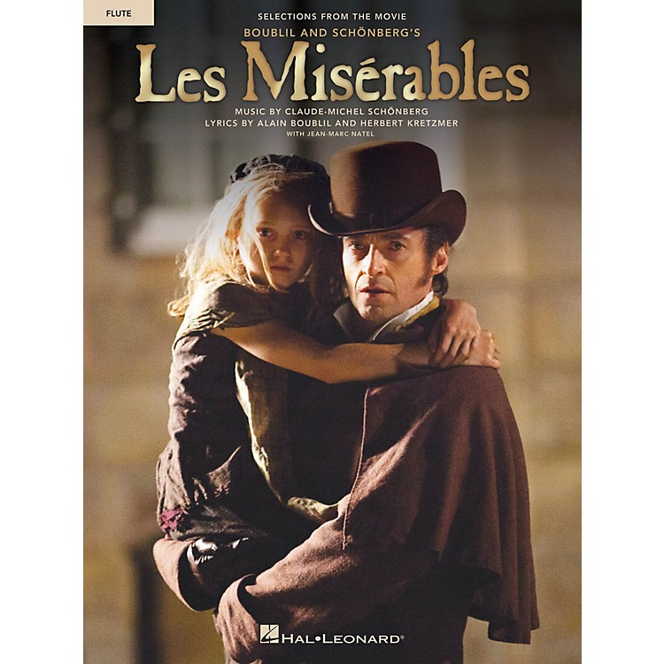 Hal Leonard Les Misérables  Instrumental Solos from the Movie for Flute