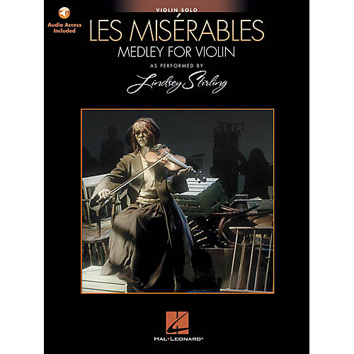 Hal Leonard Les Misérables (Medley for Violin Solo) Violin Series Softcover Audio Online by Lindsey Stirling-thumbnail