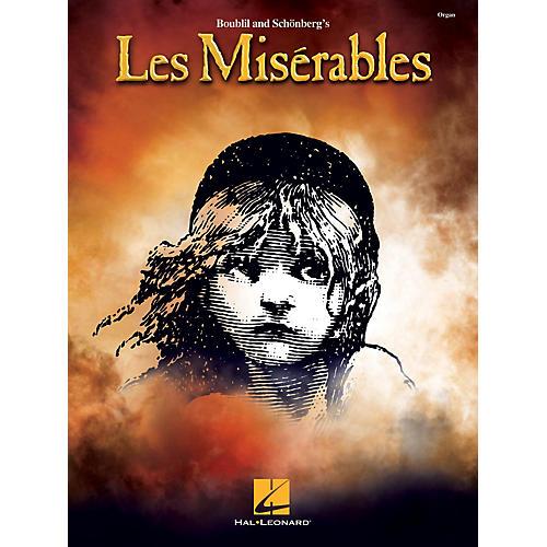 Hal Leonard Les Misérables Organ Folio Series Softcover
