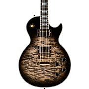 Les Paul Custom 3A Quilt Top with Gold Hardware Electric Guitar Cobra Burst