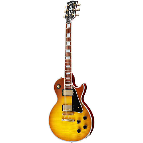Gibson Les Paul Custom Electric Guitar Faded Iced Tea