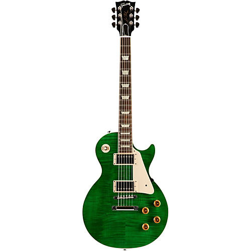 Gibson Custom Les Paul Custom Pro Electric Guitar Transparent Green