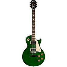 Les Paul Custom Pro Electric Guitar Transparent Green