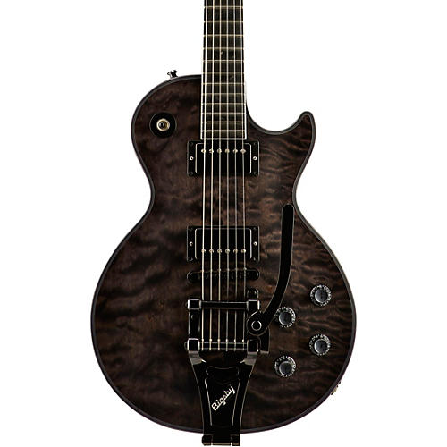 Gibson Custom Les Paul Custom Quilt - Solid Body Electric Guitar-thumbnail