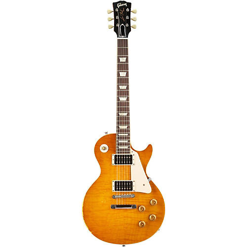 Gibson Custom Les Paul Reissue 1959 Murphy Electric Guitar Aged Sunburst with Brown Back