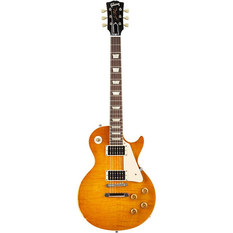 Gibson CustomLes Paul Reissue 1959 Murphy Electric GuitarAged Sunburst with Brown Back