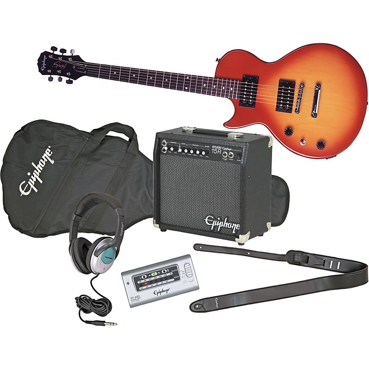 EpiphoneLes Paul Special II Left-Handed Electric Guitar and All Access Amp Pack