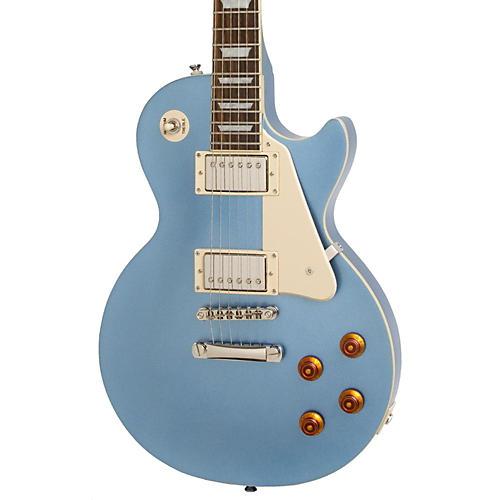 Epiphone Les Paul Standard Plain Top Electric Guitar Pelham Blue