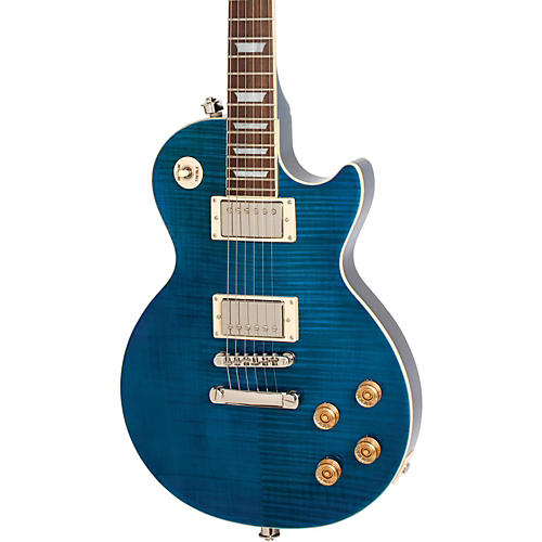 Epiphone Les Paul Tribute Plus Electric Guitar Midnight Sapphire