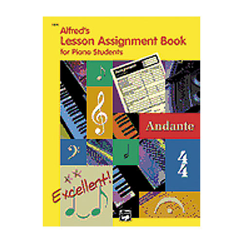 Alfred Lesson Assignment Book-thumbnail