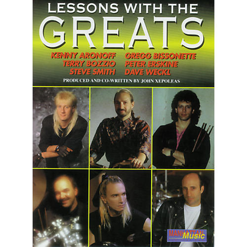 Alfred Lessons with the Greats - Drums