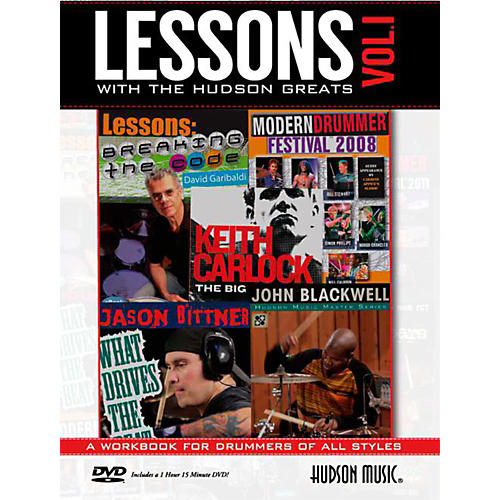 Hudson Music Lessons with the Hudson Greats Book/DVD Vol. 1-thumbnail
