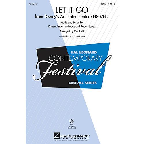 Hal Leonard Let It Go (from Frozen) SAB Arranged by Mac Huff