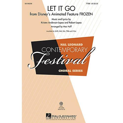 Hal Leonard Let It Go (from Frozen) TTBB by Idina Menzel arranged by Mac Huff-thumbnail