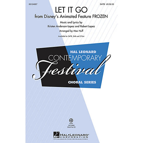 Hal Leonard Let It Go (from Frozen) (from Frozen) SSA Arranged by Mac Huff-thumbnail