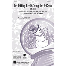 Hal Leonard Let It Ring, Let It Swing, Let It Snow (Medley) ShowTrax CD Arranged by Mac Huff