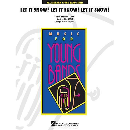 Cherry Lane Let It Snow! Let It Snow! Let It Snow! - Young Concert Band Level 3 arranged by Paul Lavender-thumbnail