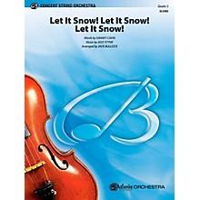 Alfred Let It Snow! Let It Snow! Let It Snow! String Orchestra Level 3 Set