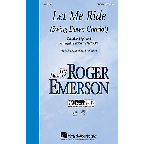 Hal Leonard Let Me Ride (Swing Down Chariot) Discovery Level 2 VoiceTrax CD Arranged by Roger Emerson-thumbnail