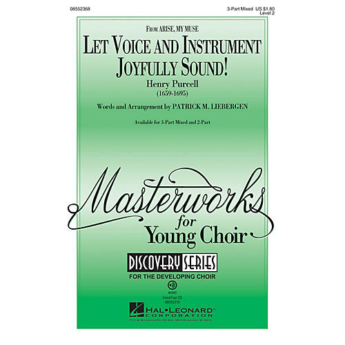 Hal Leonard Let Voice and Instrument Joyfully Sound! (Discovery Level 2) 2-Part Arranged by Patrick Liebergen