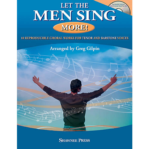 Hal Leonard Let the Men Sing MORE! Book and CD pak arranged by Greg Gilpin-thumbnail