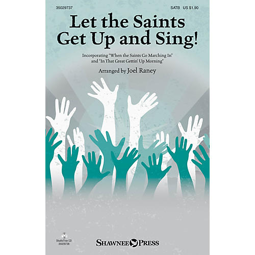 Shawnee Press Let the Saints Get Up and Sing! Studiotrax CD Arranged by Joel Raney-thumbnail